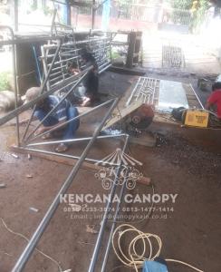 Rangka Atap Canopy Kain