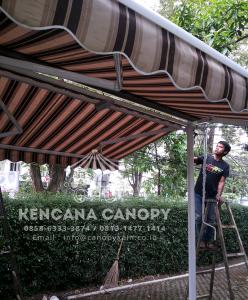 Atap Canopy Kain