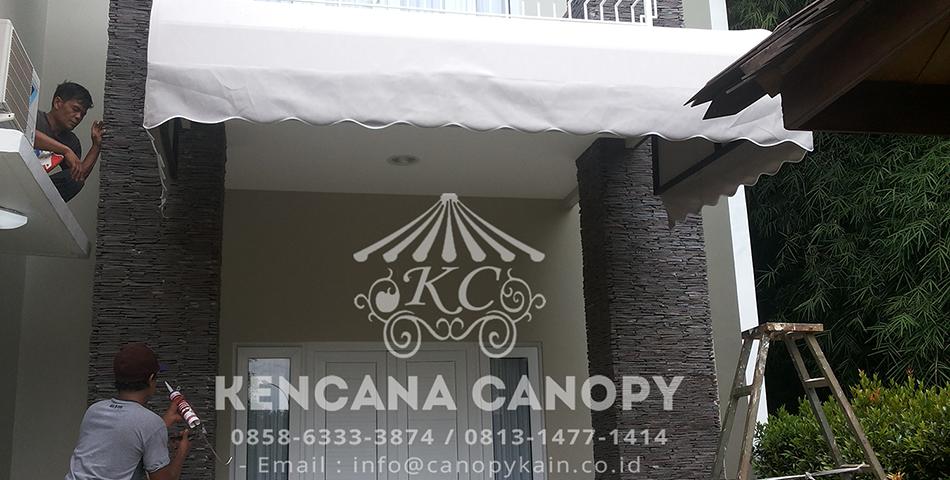 Canopy Kain Rumah