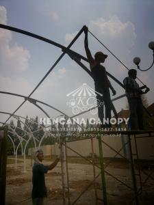 Pasang Tenda Membrane